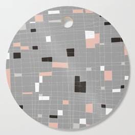 Square abstract Cutting Board