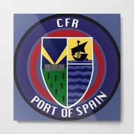 CFR - Port Of Spain Metal Print