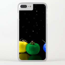 XTRA TOMATOS Clear iPhone Case