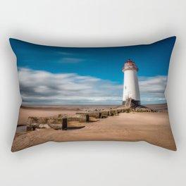 Talacre Beach Rectangular Pillow