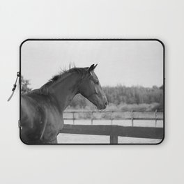Bubba in Black and White Laptop Sleeve