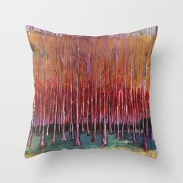 """""""Autumn Forrest""""copywrite Ray Stephenson 2014 Throw Pillow"""