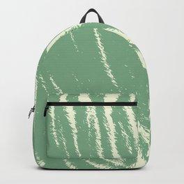 Tiger print mint Backpack