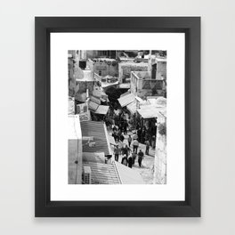 The Old City Framed Art Print