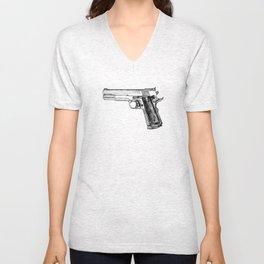 GUN Unisex V-Neck