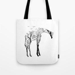 Camelopardalis Tote Bag