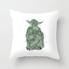 Yoda Star . Wars Throw Pillow