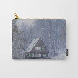Snowed In Carry-All Pouch