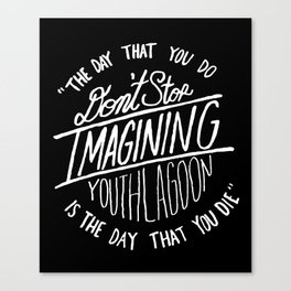 17 by Youth Lagoon Canvas Print