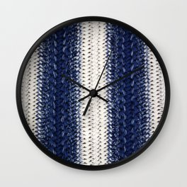Dip-dye Crochet Wall Clock