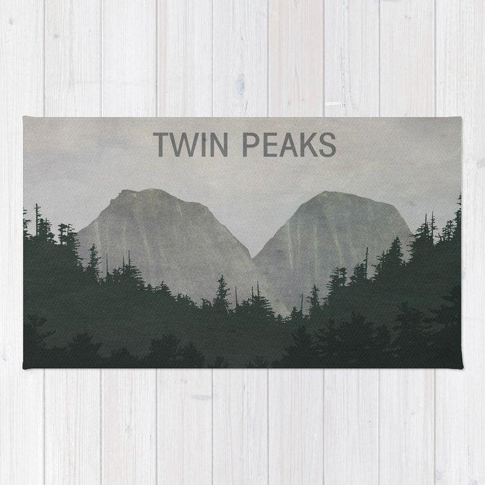 Twin Peaks Rug