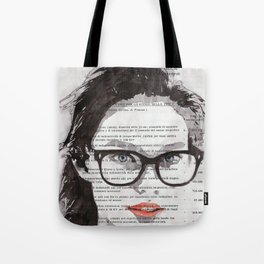 Honey - Portrait ink drawing Tote Bag