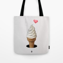 Cream Cone Tote Bag