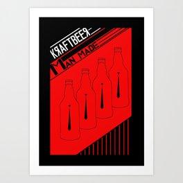 Kraftbeer (i) Art Print