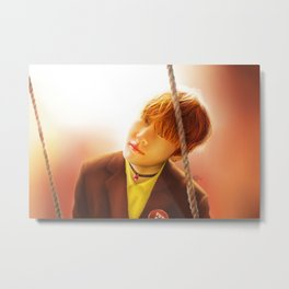 Taehyung Metal Print