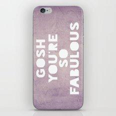 Gosh (Fabulous) iPhone & iPod Skin