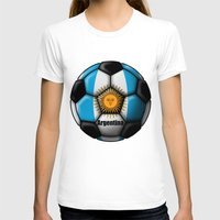 argentina T-shirts featuring Argentina Ball by kuuma