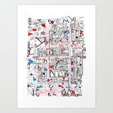 2002 - Thoughts In Rotterdam (High Res) Art Print
