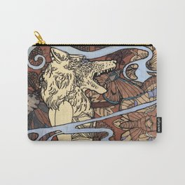 Strong and Weak Carry-All Pouch