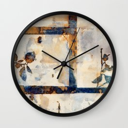 Rusty Nature Wall Clock