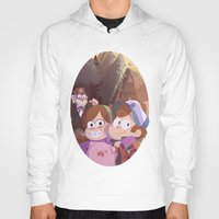 gravity falls Hoodies featuring gravity falls by Tae V