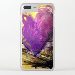 A Big, Bright, Happy Love Clear iPhone Case