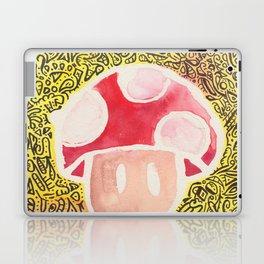 One Upper Mushroom zendoodle Laptop & iPad Skin