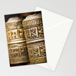 Tibetan Prayer Wheel Nepal Temple Stationery Cards