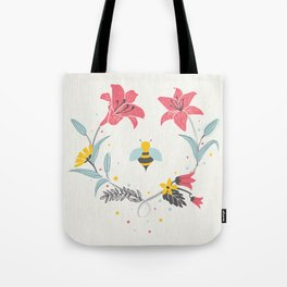 Lily Bee Tote Bag