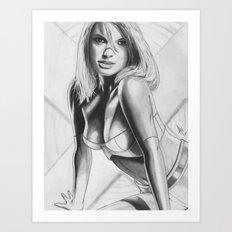 Emma 2011 Art Print