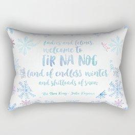 Welcome to Tir Na Nog Rectangular Pillow