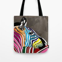 map Tote Bags featuring map by mark ashkenazi