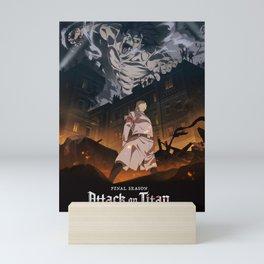 Attack on titan, Levi Ackerman, Aot Poster, Hoodie Mini Art Print