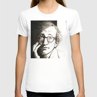 woody allen T-shirts featuring Woody Allen by Frances Roughton