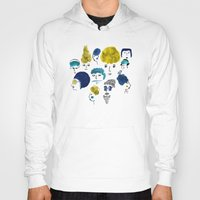 faces Hoodies featuring Faces by Sahily Tallet Yip
