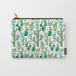 Cactus Oh Cactus Carry-All Pouch