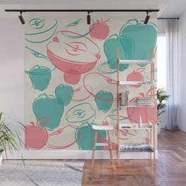 apple Wall Mural
