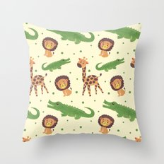 Welcome to Africa Throw Pillow