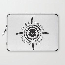 Native Amrican STEM Mandala Southwestern Laptop Sleeve