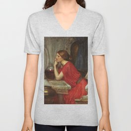 John William Waterhouse Circe 1911 Unisex V-Neck