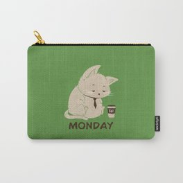Monday Cat Carry-All Pouch