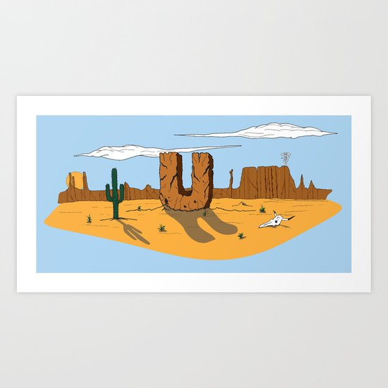 You Rock! Art Print