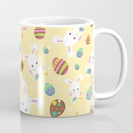 Easter Bunny Eggs Hunt Coffee Mug