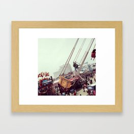 A Fantasy World Framed Art Print