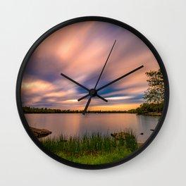 Eagle Lake Sunset - image 1 Wall Clock