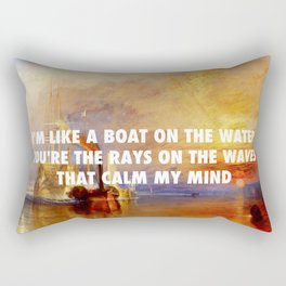The Fighting Temeraire | Fool's Gold Rectangular Pillow