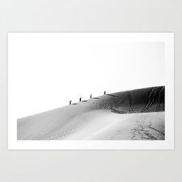 Feel the desert adventure Art Print
