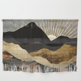 Copper and Gold Mountains Wall Hanging