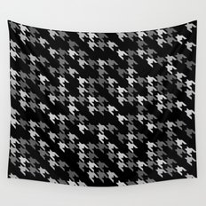 Toothless Black and White Wall Tapestry