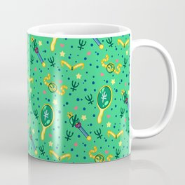 Sailor Neptune Pattern / Sailor Moon Coffee Mug